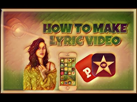 How to make lyric video in iOS!