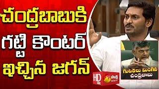 YS Jagan Strong Counter to Chandrababu | AP Budget 2019 | చంద్రబాబు పాలనలోనే కాళేశ్వరం కట్టారు
