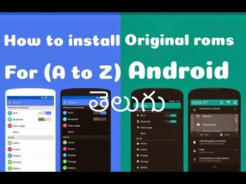 How to download 100% original android stock Rom for free