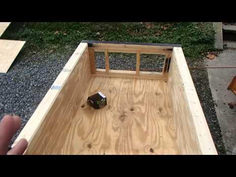 HOW TO BUILD Indoor Salt Water Pond Part 2 Adding walls