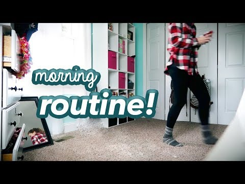 MORNING ROUTINE// Winter Break Edition