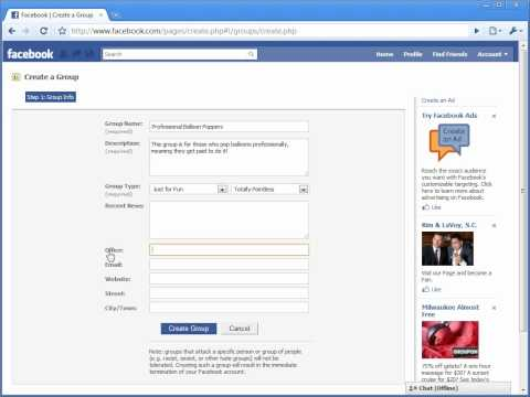 How To Create A Facebook Group Page