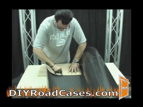 DIY Road Cases ® Featuring Larry Cox - Laminating Wood With ABS Plastic