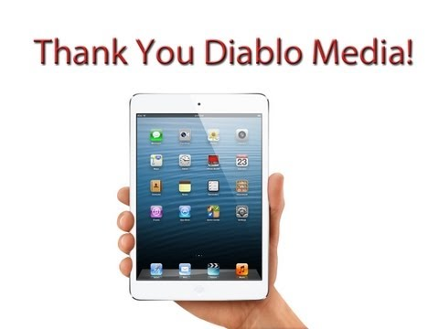 Thank You Diabo Media - iPad Mini - ASW13