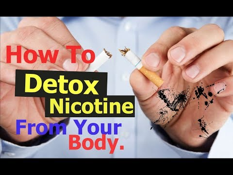 How To Naturally Detox Nicotine From Your Body