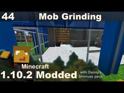 Modded 1.10.2 - E44 - Mob Grinder Build