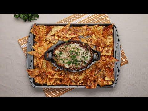 Lasagna Chips and Dip