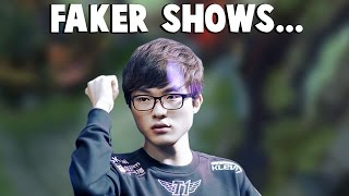 FAKER Shows What His EKKO IS CAPABLE OF...   Funny LoL Series #54