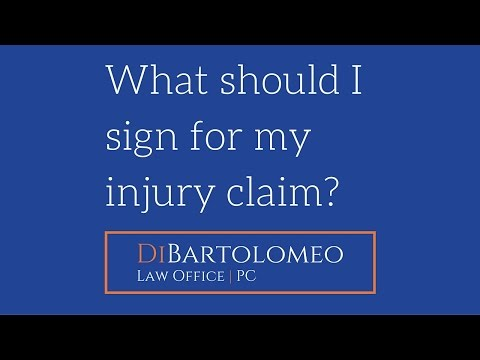 What Forms Should I Sign For My Oregon Auto Injury Claim? | JD Law Office