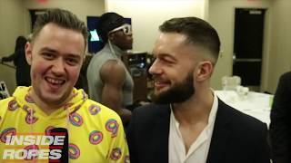 Finn Balor Talks The Club and his Wrestlemania Celebration