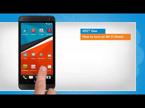 Wi-Fi Direct On / Off in HTC® One
