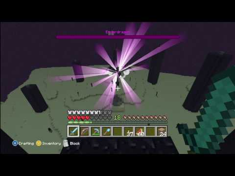 Minecraft Xbox: Beating the Ender Dragon on Hard Mode