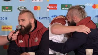 Joe Marler and Dan Cole in sensational form in Rugby World Cup final press conference