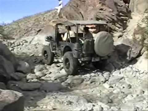 Old Flat Fender Jeep