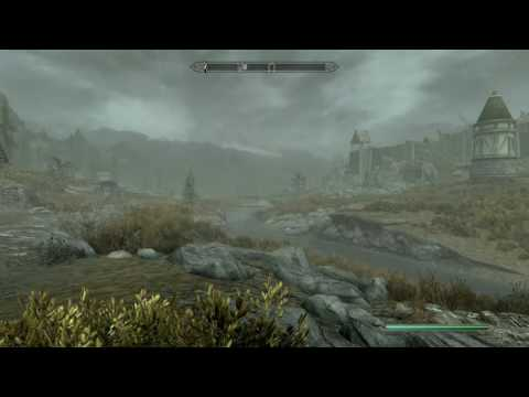 Skyrim Remastered - The Amazing Flying Horse!!!