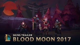 The Hunt of the Blood Moon | Blood Moon 2017 Trailer - League of Legends