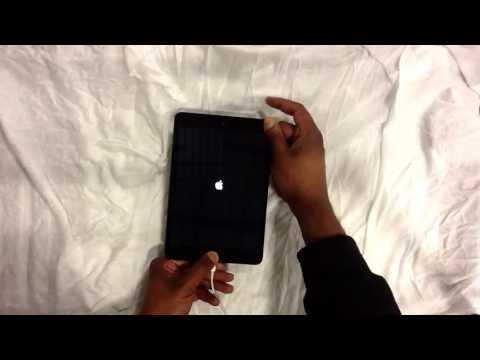 How to restore a password locked iPad Mini.