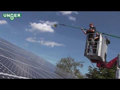 Unger HiFlo System - Solar Panel Cleaning