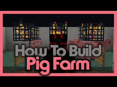 How to Build an Automatic Pig Farm! (Using Spawners)