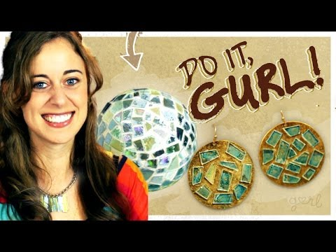 Transform Old CDs into Jewelry (or a Disco Ball)! - Do It, Gurl