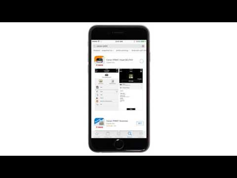 Canon PIXMA MG3020 - Easy Wireless Connect Method on an iOS Device