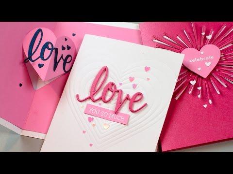 Easy Pop-Up Heart Card
