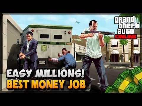 GTA 5 How To Make Money - $250,000 Per Hour (GTA 5 How To Make Money)