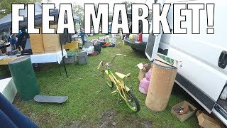 Selling at The Flea Market - Started with a FULL Van