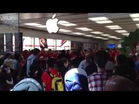 Apple Store Fountain Gate Opening