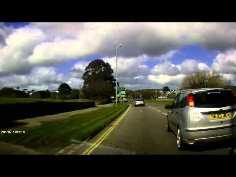 Driving in Truro - Great Lane Control - Road Rage - BN03 OUK