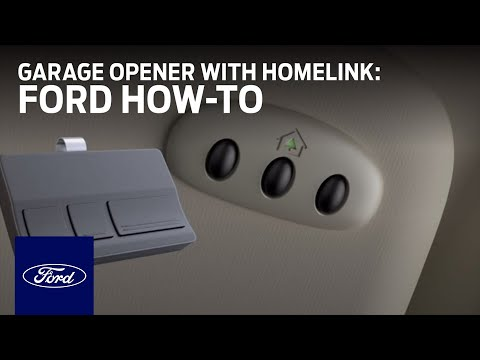 Universal Garage Door Opener with Homelink | Ford How-To | Ford