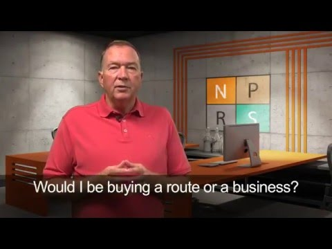 Would I be buying a route or a business?