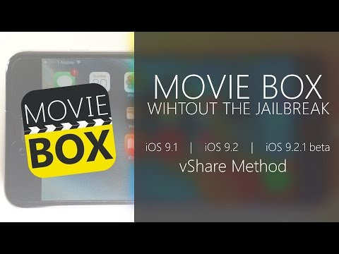 How To Install Movie Box & Play Box HD iOS 9 - 9 3 1 & 9 3 2