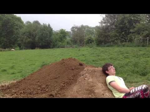 Making a dirt jump