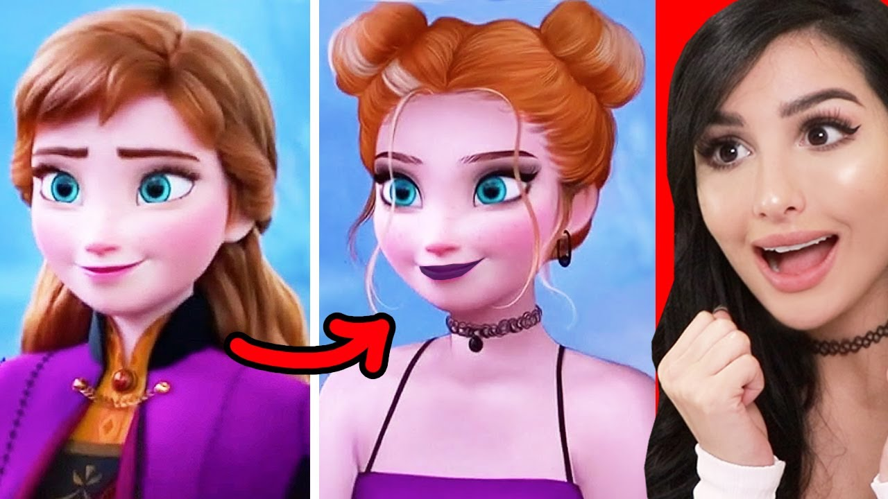Amazing Disney Princess Glow Up Transformations