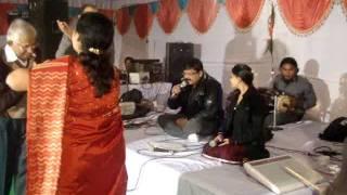 Rajeev saxena musical group,Kanpur-Phul tumhe bheja hai khat me by Rajeev deepika.