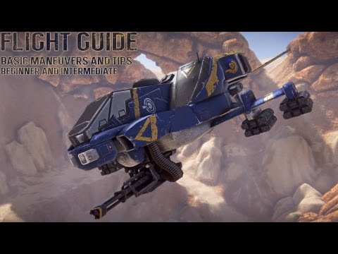 Planetside 2 - Beginner and Intermediates guide to flying!