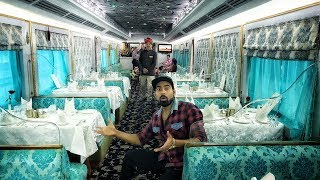 India's ₹5lakh  Luxury Train Ride | Expensive Train Ever😱