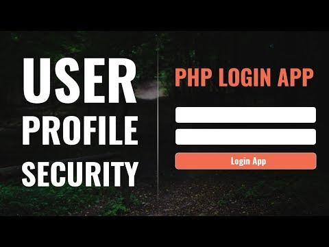 User Profile Security & Validations | PHP Login App in Hindi | vishAcademy