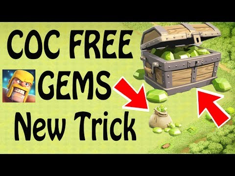 (HINDI) Free Gems Daily clash of clans new trick