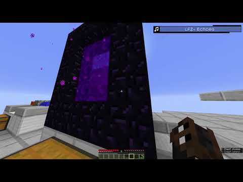 Minecraft - Lighting a Nether Portal without Flint and Steel