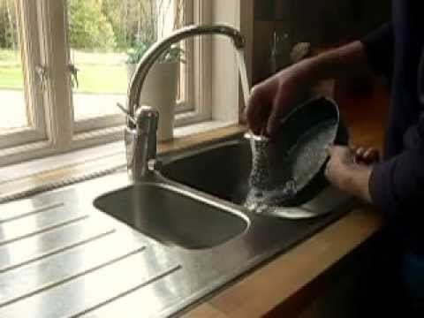 How To Clean Cast Iron Skillet With Crucible Cookware Cast Iron Cleaner Chainmail Scrubber