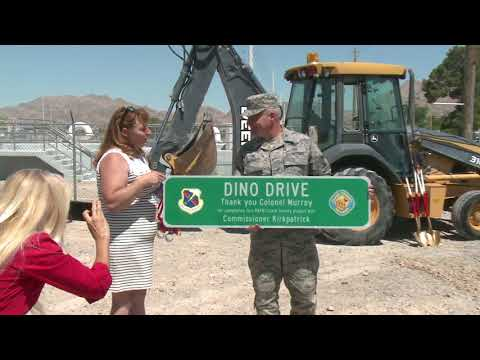 Ground Broken on Project Outside Nellis Air Force Base