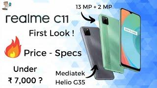 Realme C11 First Look | MediaTek Helio G35 | Realme C Series | Realme Smartphones 2020 | PHONLY