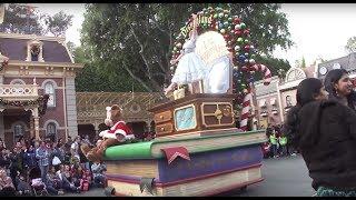 Christmas Parade in Disneyland
