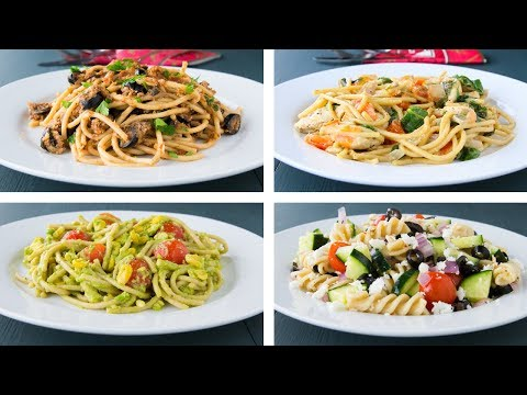 4 Healthy Pasta Recipes For Weight Loss