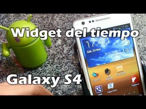 [Tutorial] Widget Weather Samsung Galaxy S4 para Galaxy S2