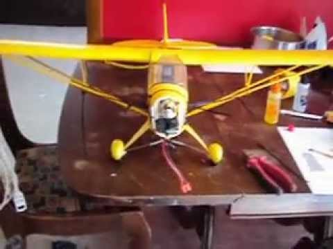 RC J3 Super Cub by Flyzone learning to fly