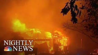 At Least 15 Dead As California Wildfires Rage On | NBC Nightly News