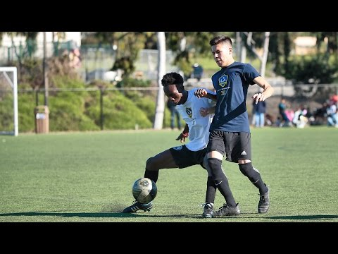 Undiscovered soccer players chase their dream at LA Galaxy II tryouts